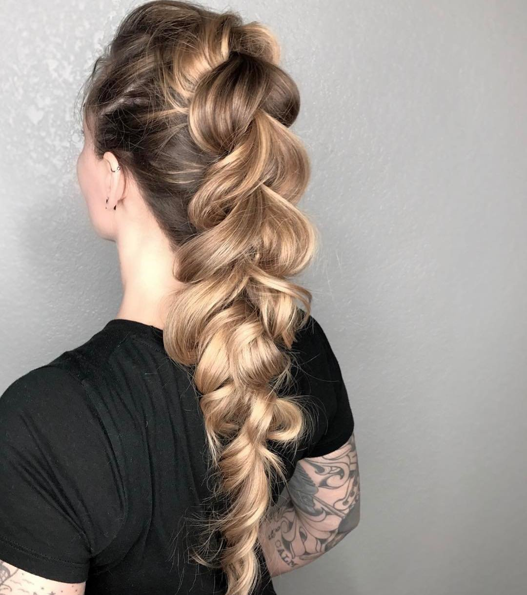 знак плетения для длинных волос с картинками этом