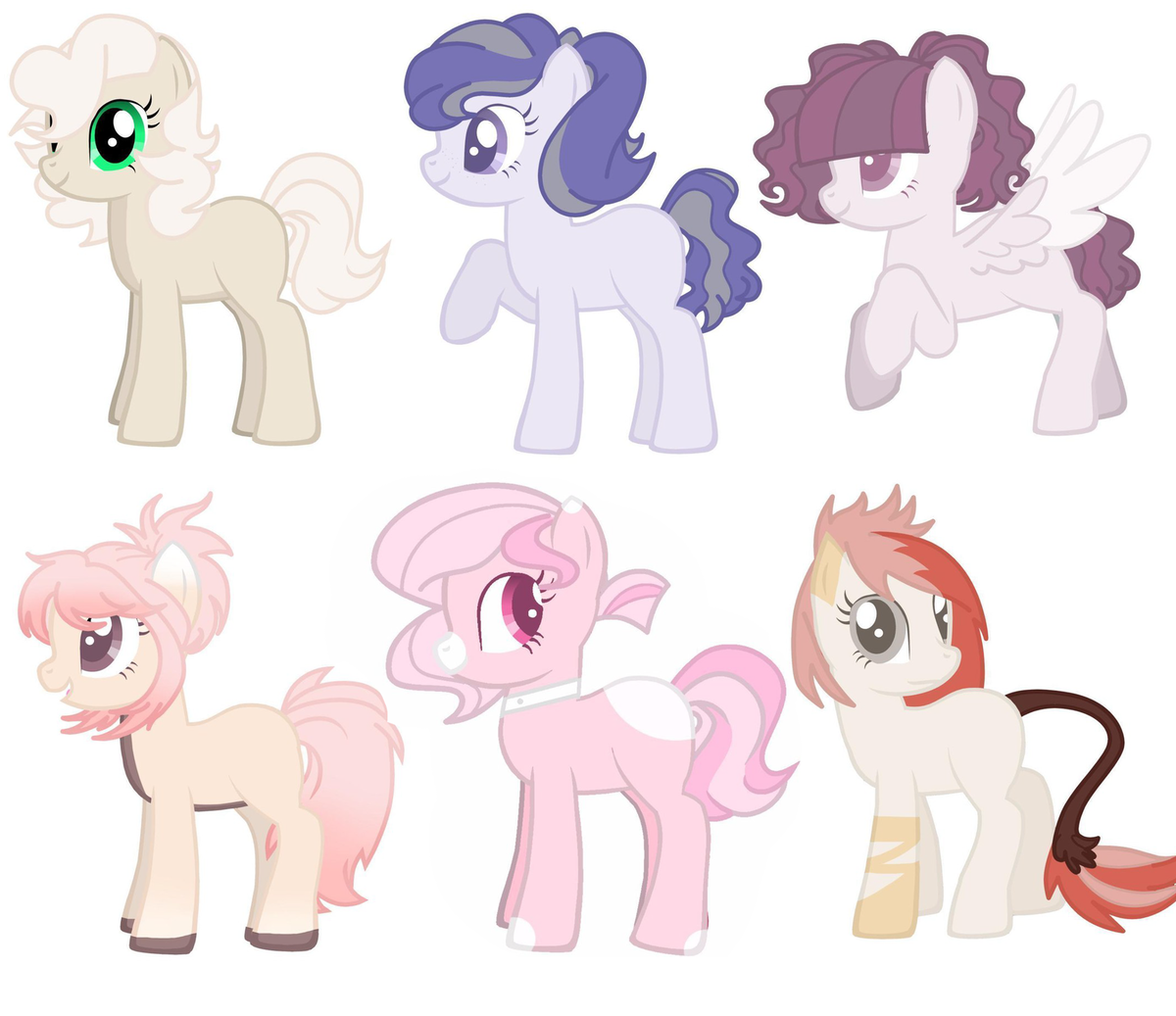Картинки для создания пони