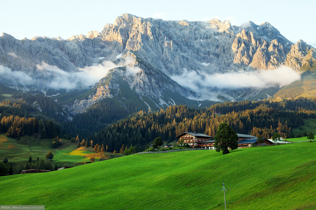 Горы австрия картинки