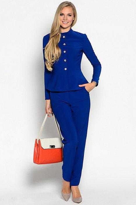 синем в костюме модель anneli