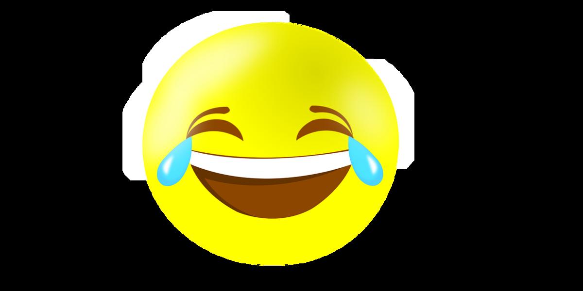 картинка смеющейсего смайлика также