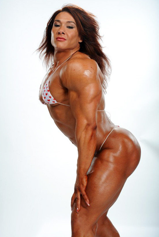Nude lady body builders — 6