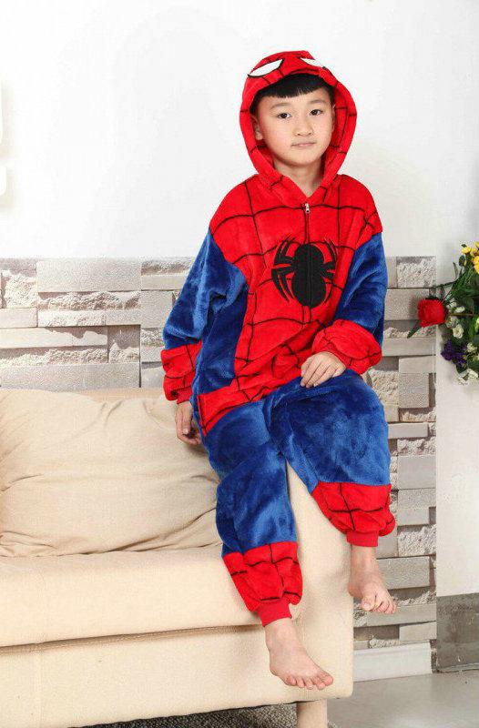Костюм-Пижама Кигуруми Человек-Паук для ребенка » — карточка ... db46229785dd4