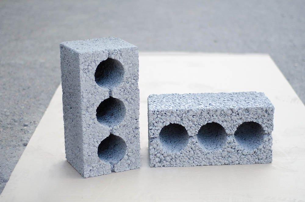 керамзитный шлакоблок