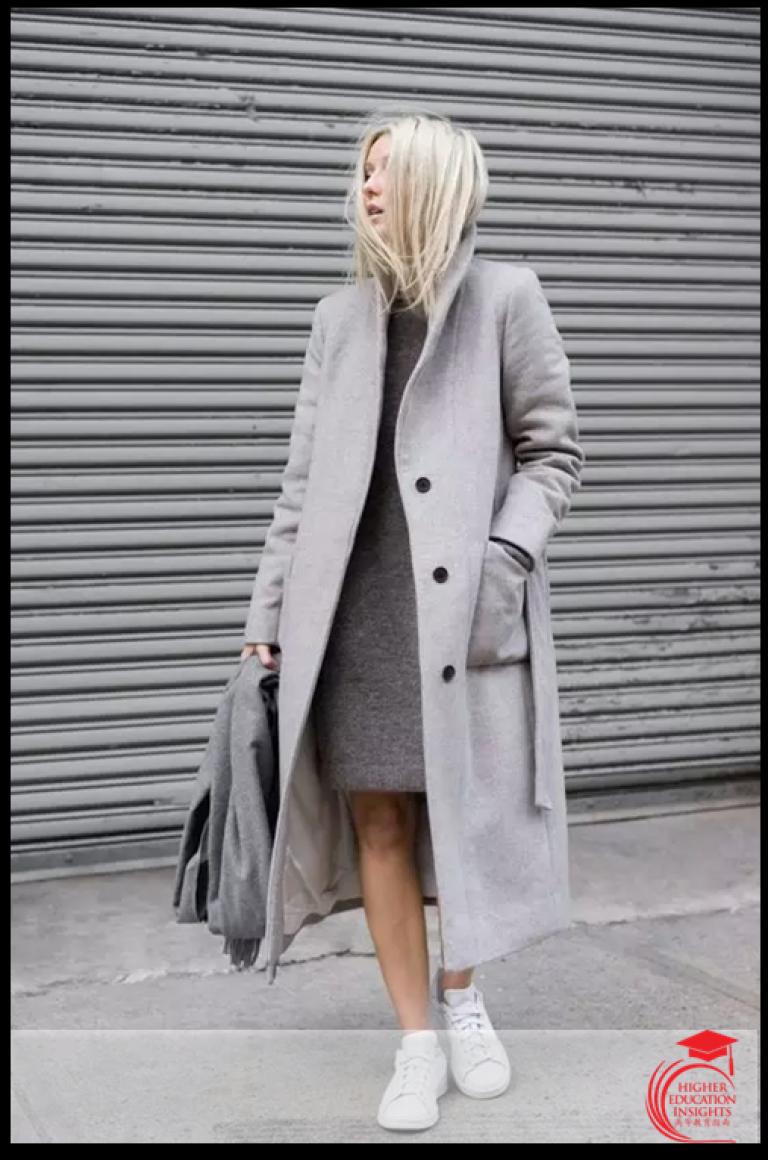 6 стильных вещей для образа total grey зимой: 25 лучших образов рекомендации