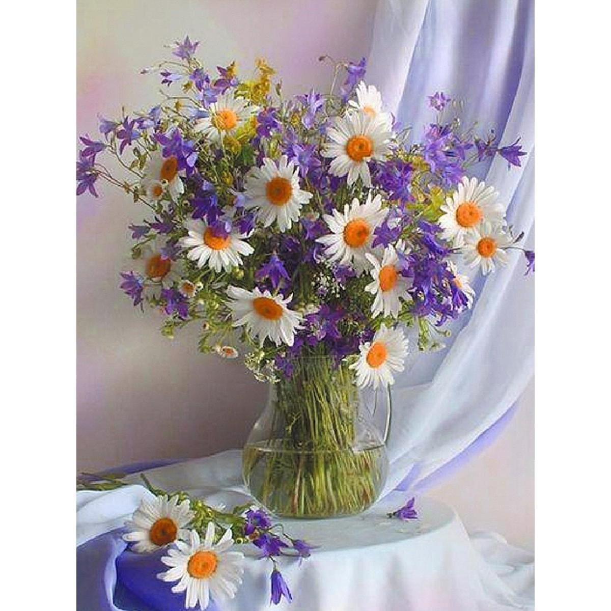 Открытки с днем рождения цветы полевые