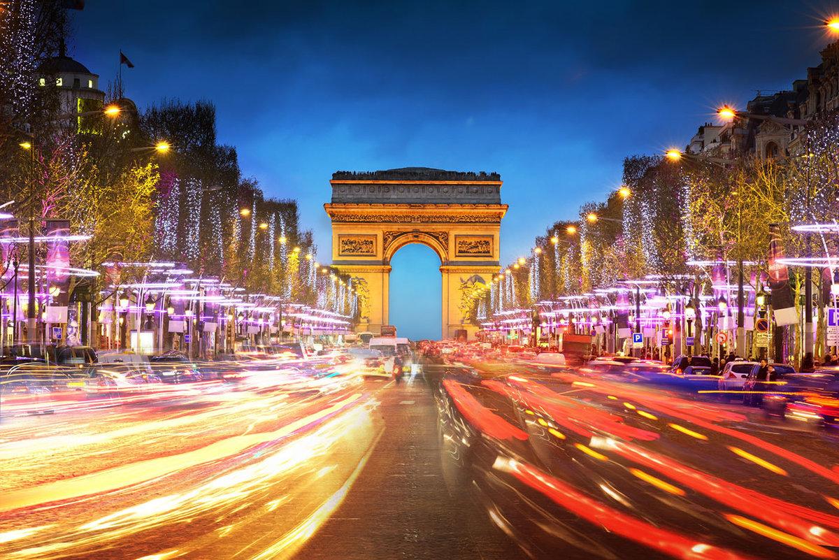 Красивые парижские картинки, любимой мамочке