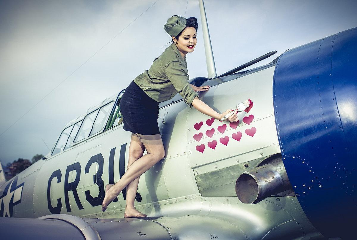Пин ап картинки об авиации