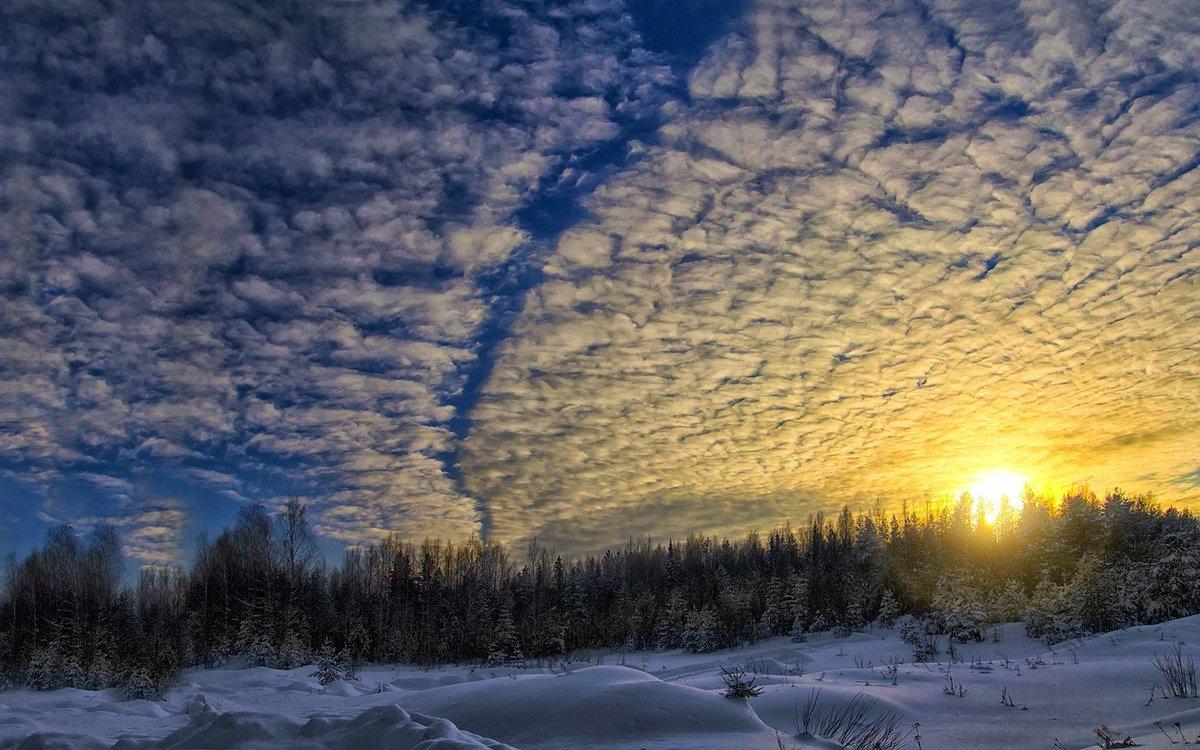 облака зимой в картинках вроде немало