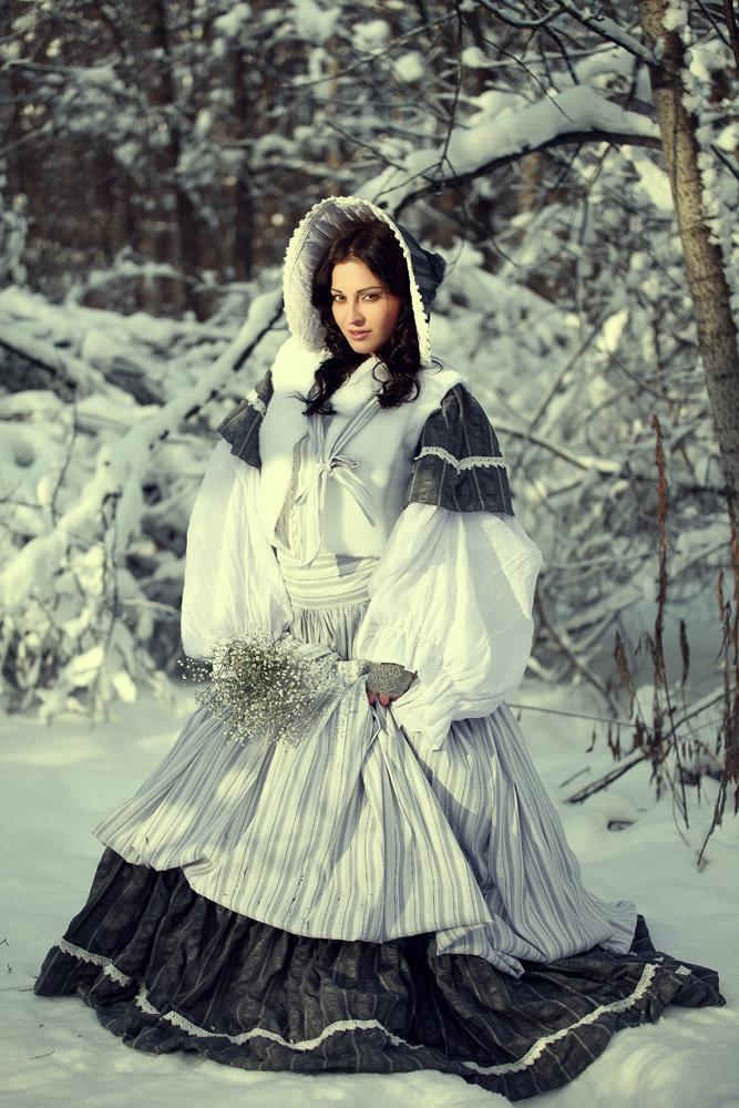 Картинки девушка в зимнем наряде