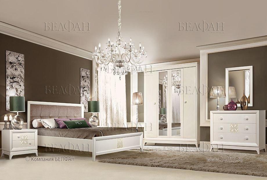 мебель для спальни Sabrina изготовлена из массива и шпона бука а