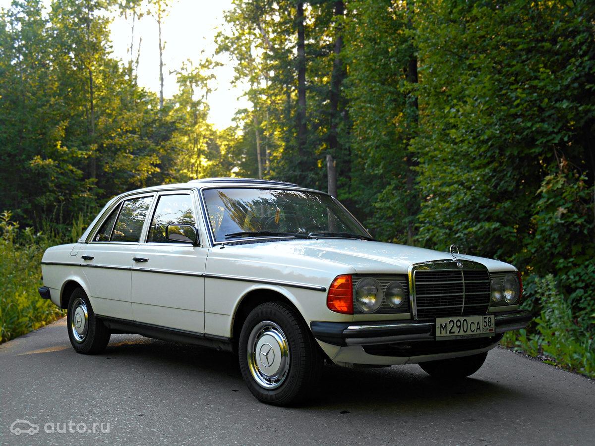 Mercedes Benz W123 E230 Oldtimer Drive2 Card From User Railhan