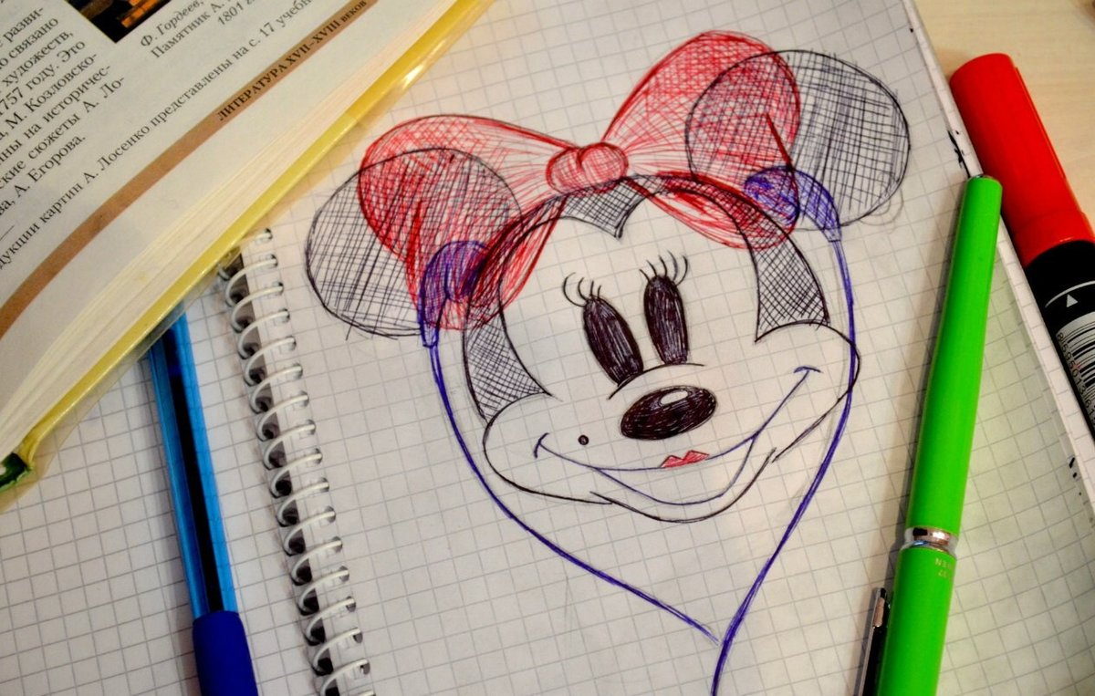 Дневник рисунков картинки