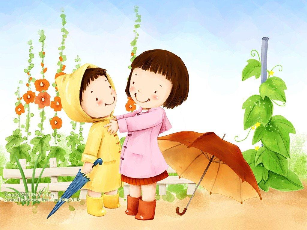 Картинки дети помогают другим