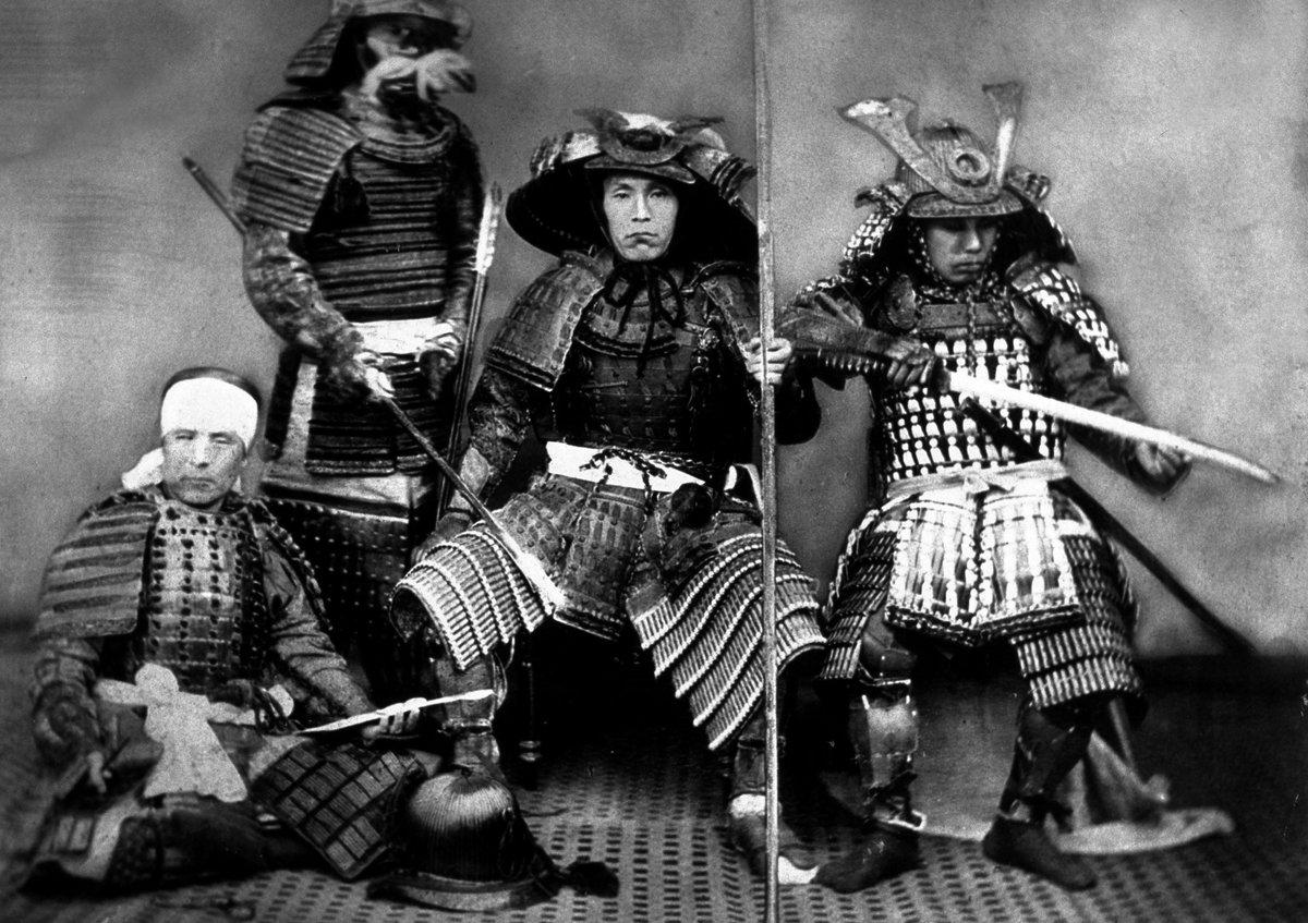 японские самураи фото картинки