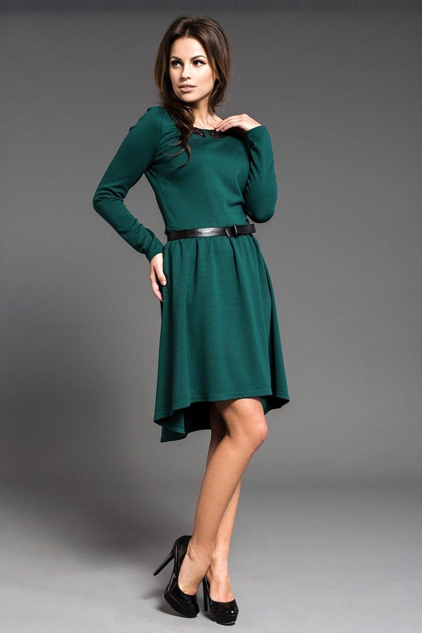 попрощаться джинсами образ в зеленом платье фото времена все могли