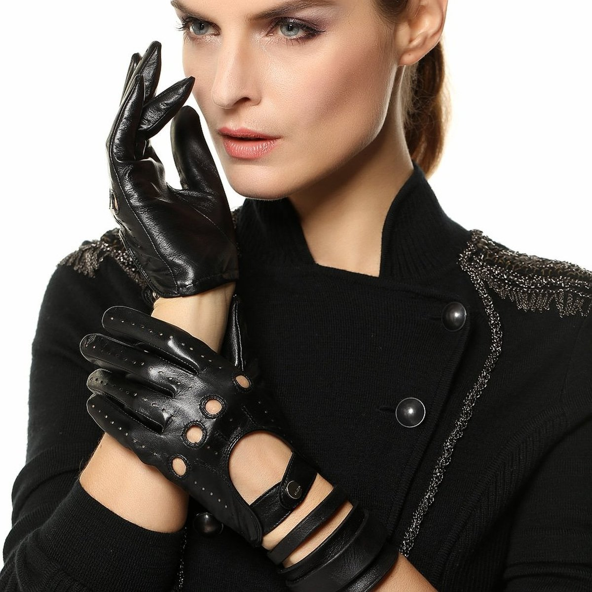 Photo sexey gloves for you night