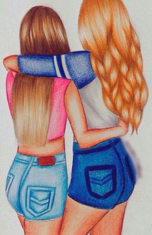 Красивые картинки для сестры для срисовки