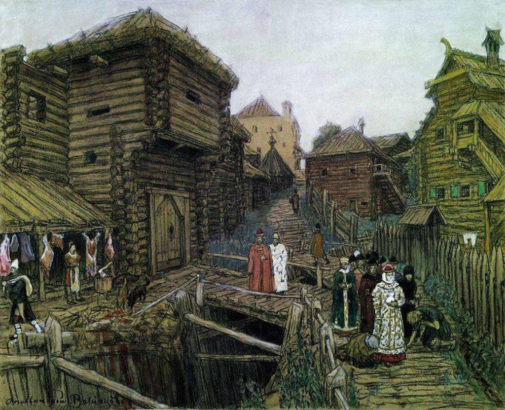 История москвы в картинках, днем рождения