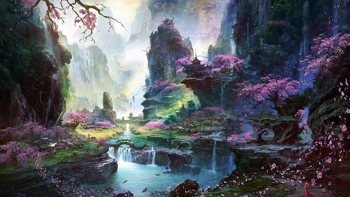 Фантазийные картинки природы