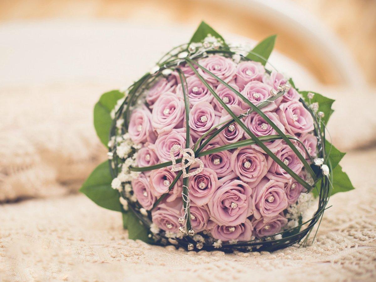 Доставка харьков, букет невесты из бутонов розы