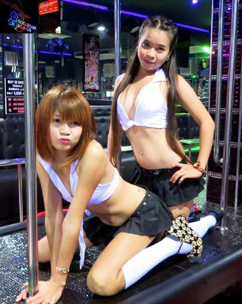 Rubbing one korean go go girls womens sexy