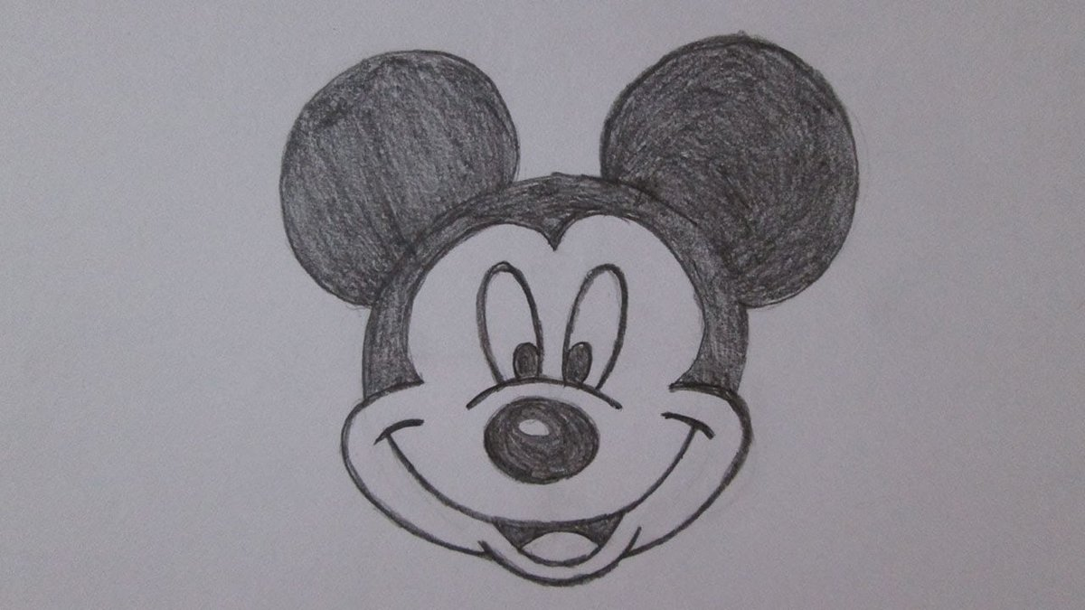 простые картинки для рисования карандашом простые