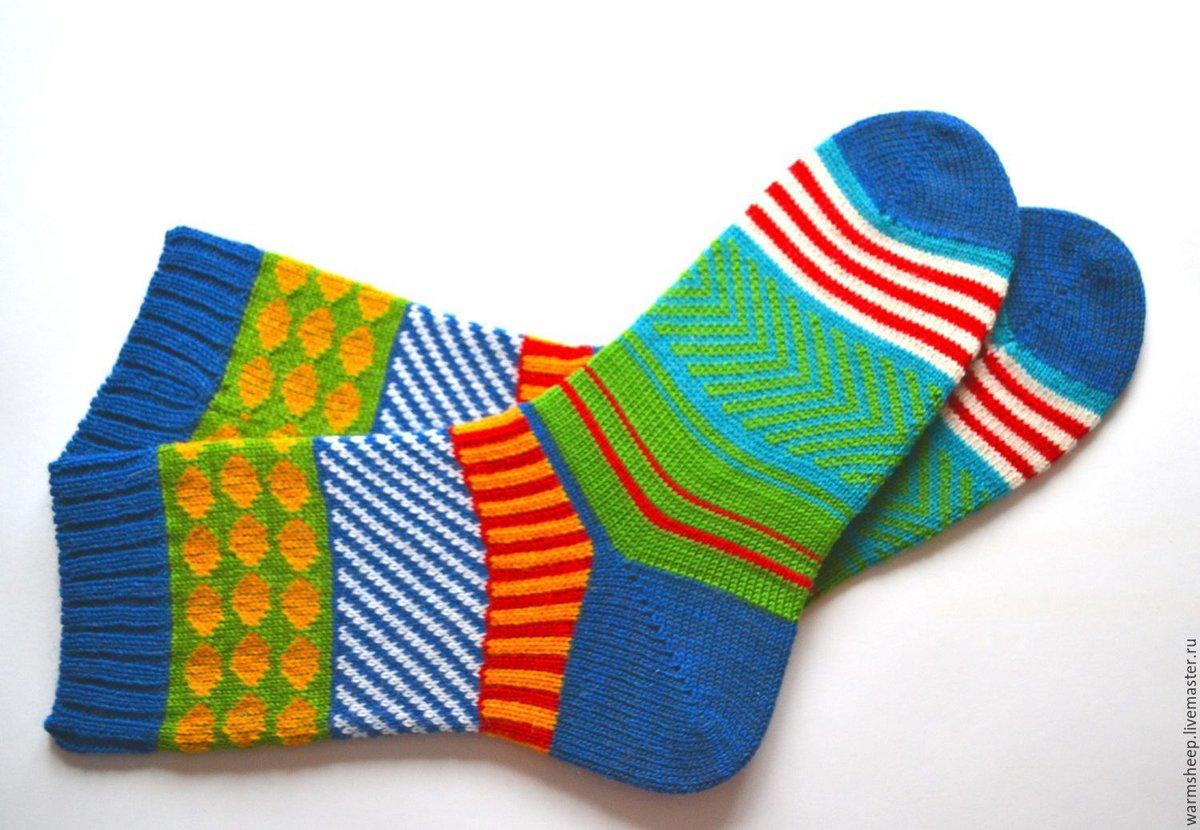 Картинки носки вязанные