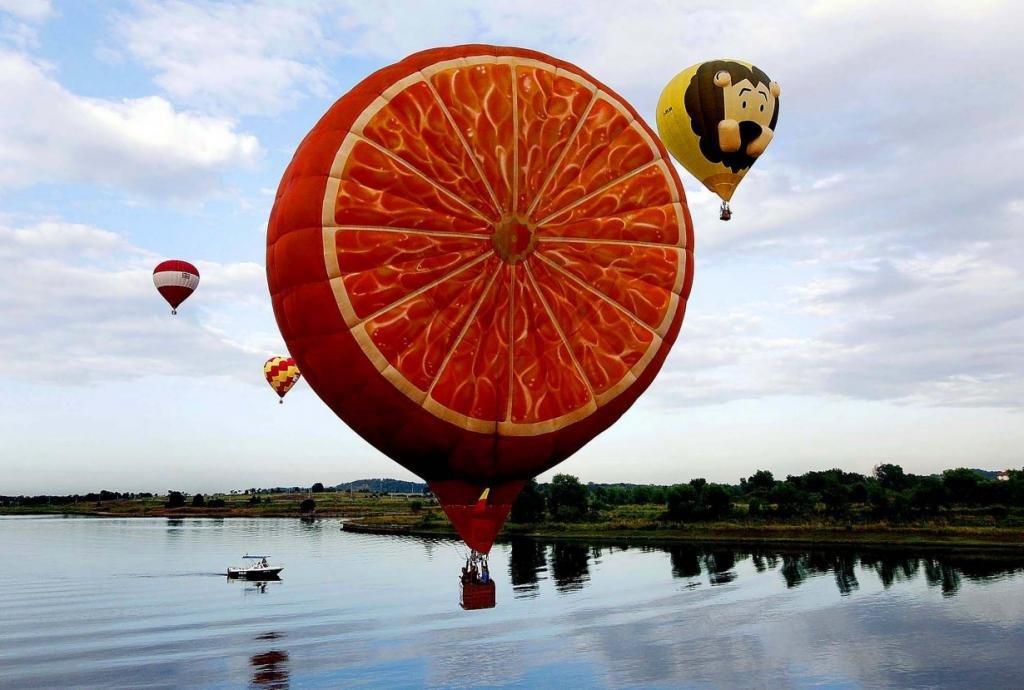 Воздушные шары картинки смешные, днем