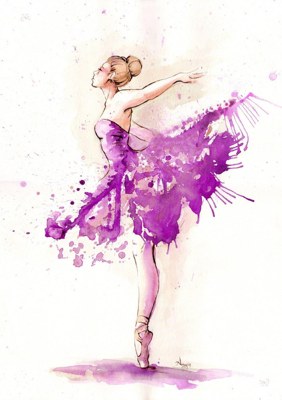 Картинки нарисованного танца
