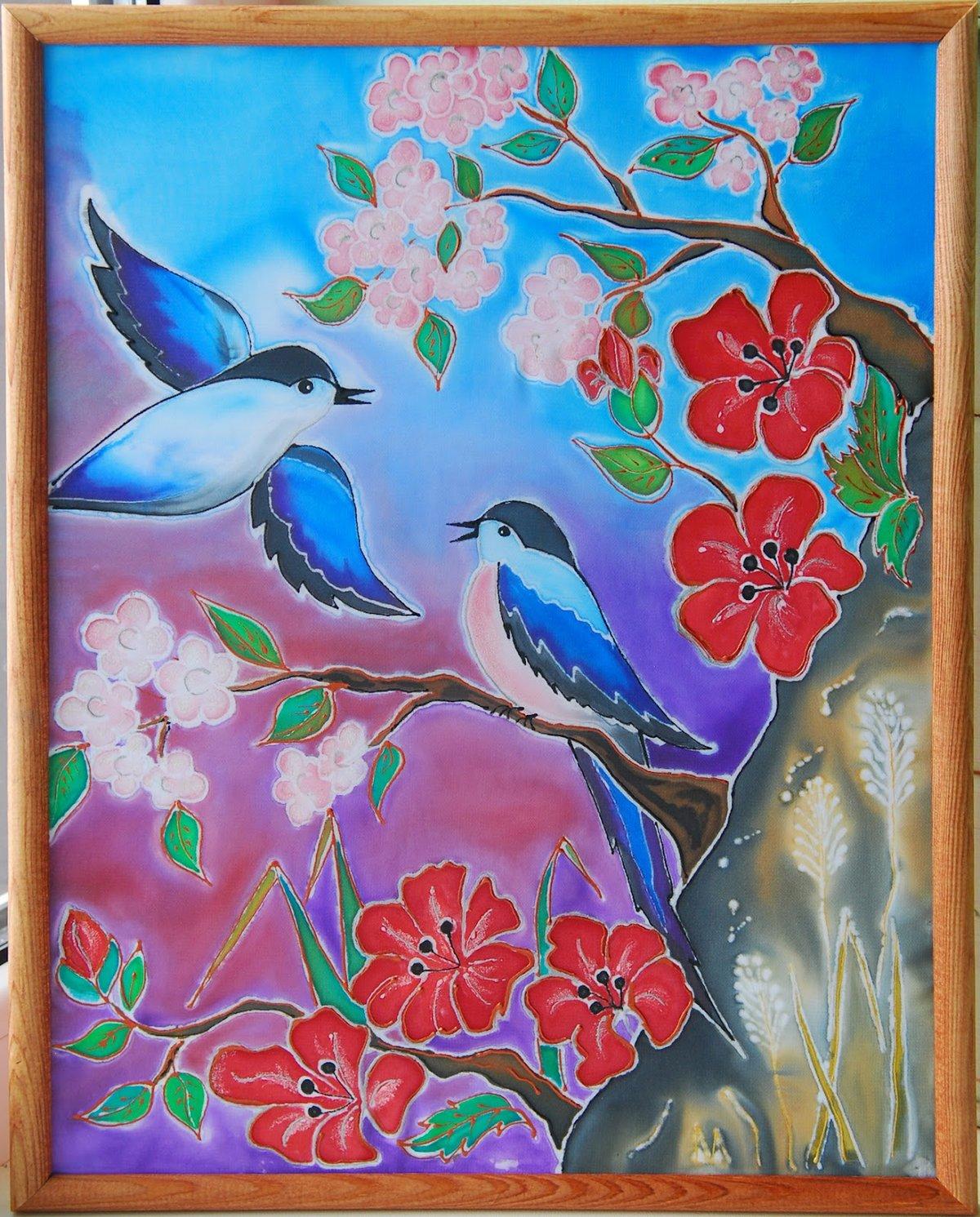 Картинки из батика для начинающих