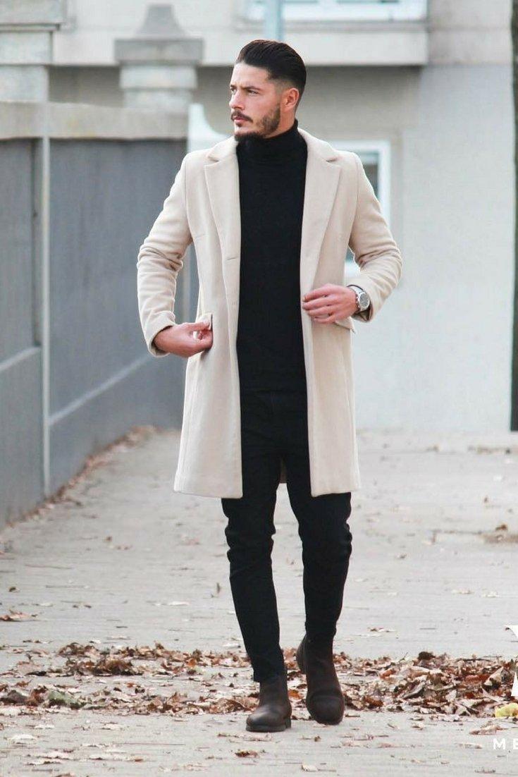 фото обувь на ноги к пальто мужская этой кожи