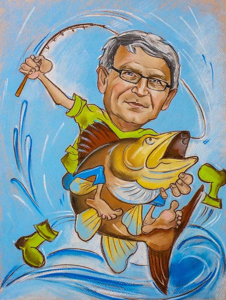 прикольные поздравления папе рыбаку