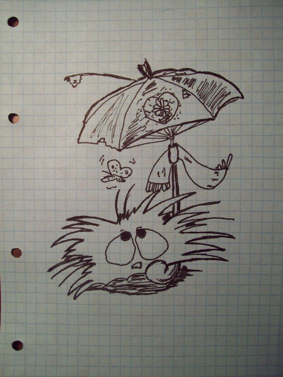 Прикольные рисунки карандашом и ручкой