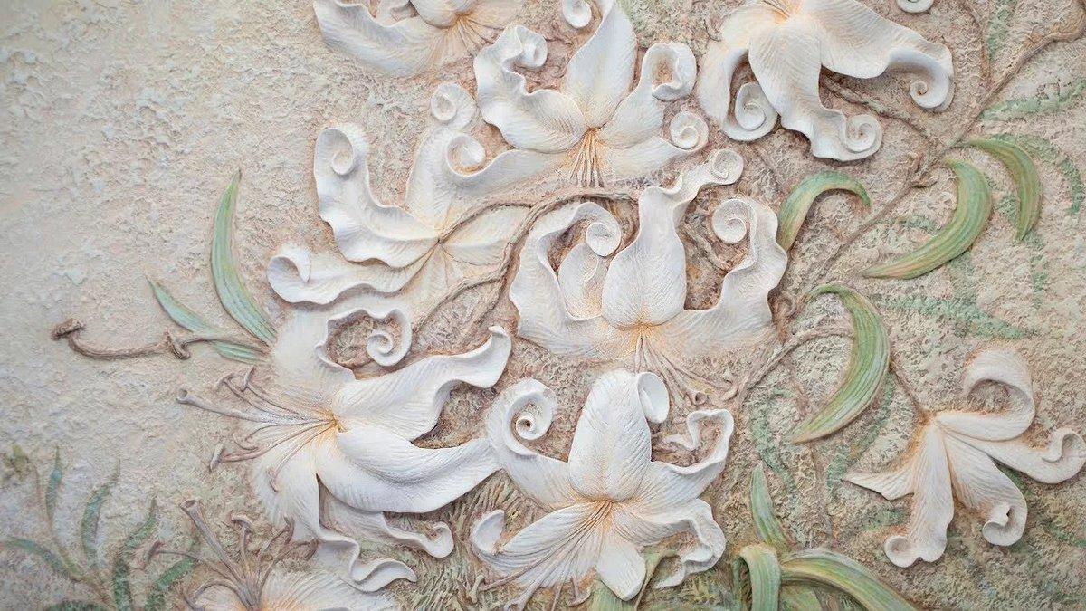 Цветы из гипса на заказ одесса, цветы