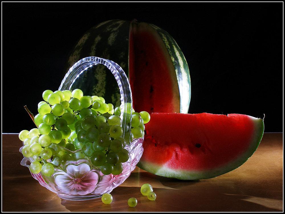 Открытки доброе утро с фруктами оригинальные