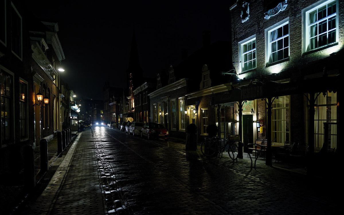 Фотографии ночной улицы
