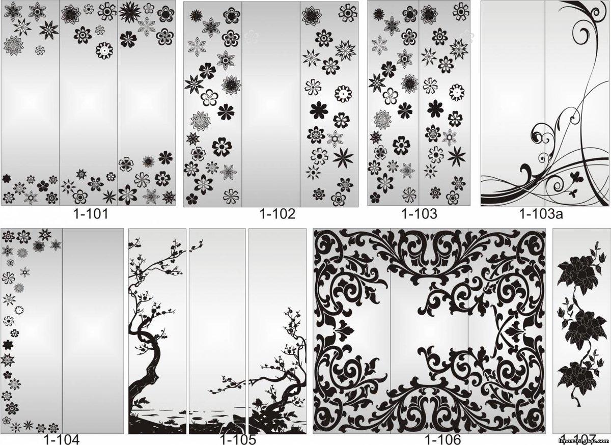 Каталог картинок для стекла