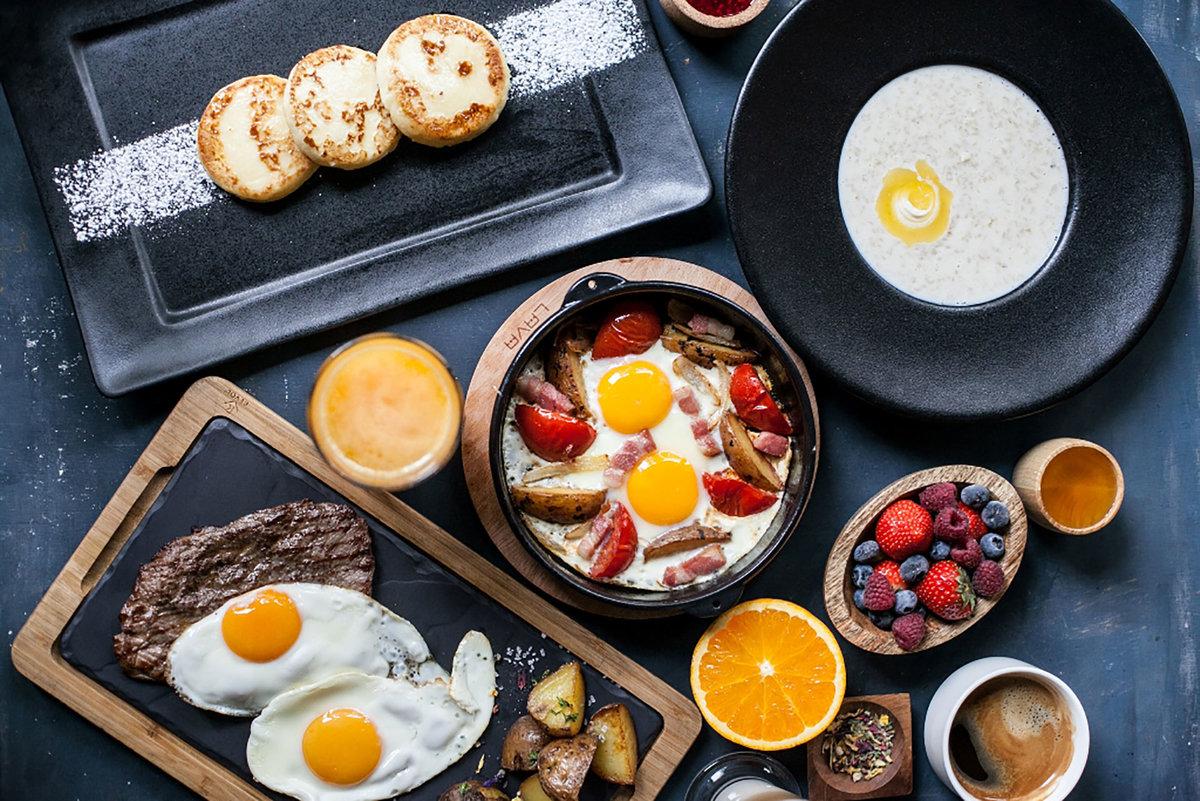 Картинки с завтраками для доброго утра, веселого дедушки