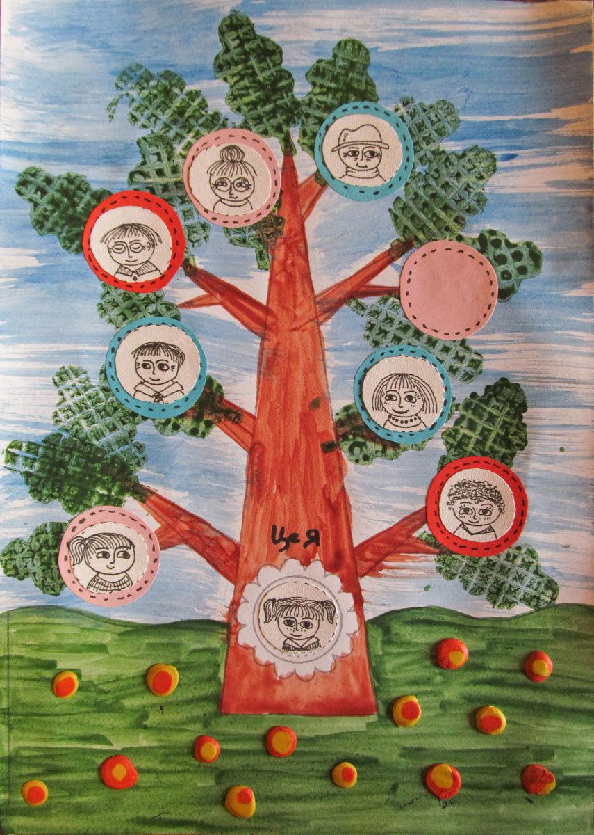Дерево своими руками рисовать фото 130