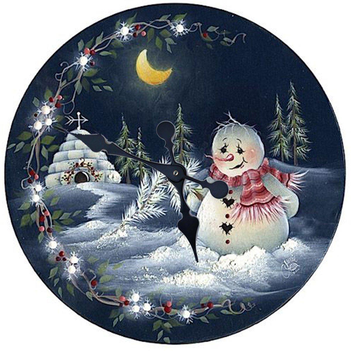 рождественские картинки в круге людьми