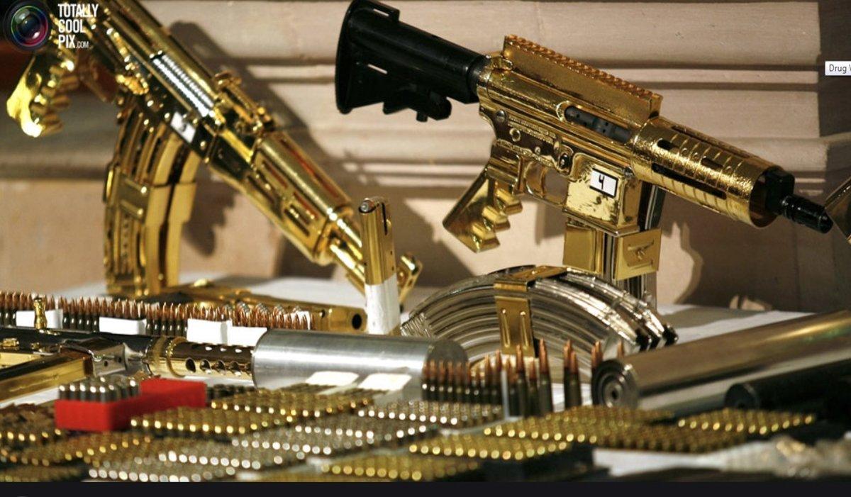 Картинки с оружием золотым