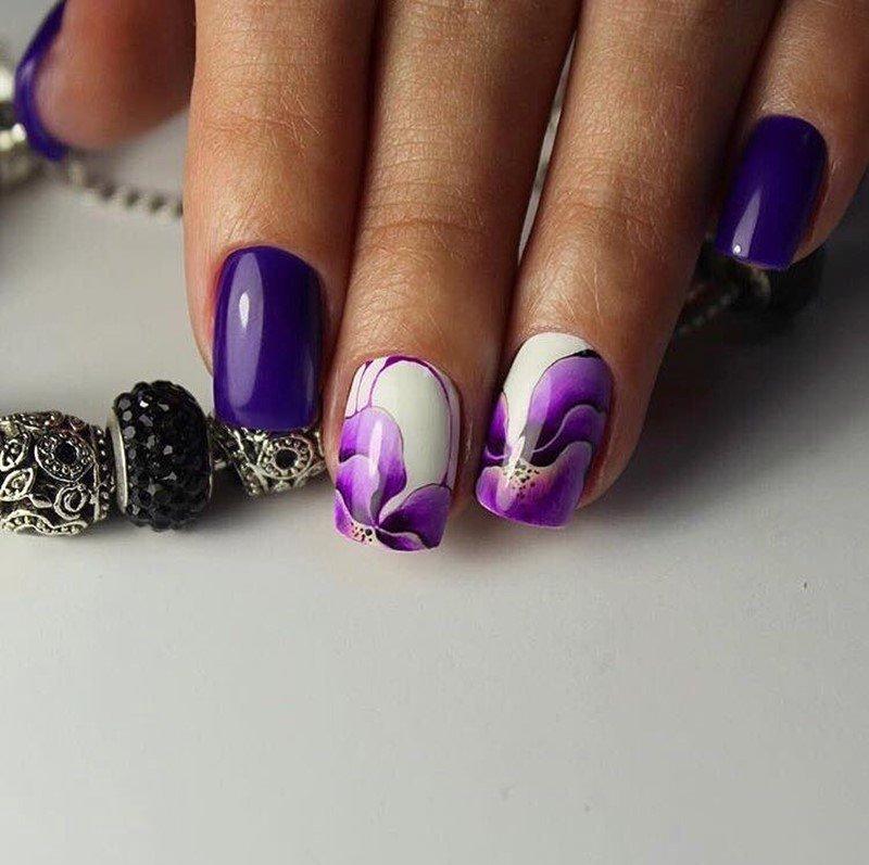 фото рисунки ногтей гель лаком