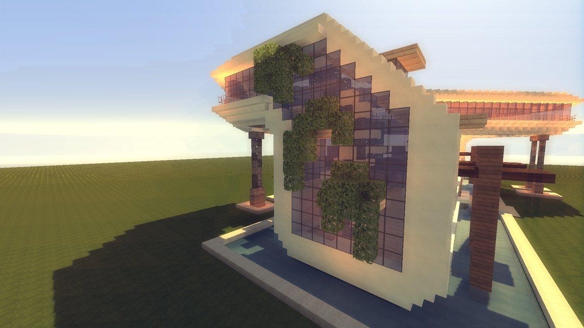 Необычные дома в майнкрафте фото