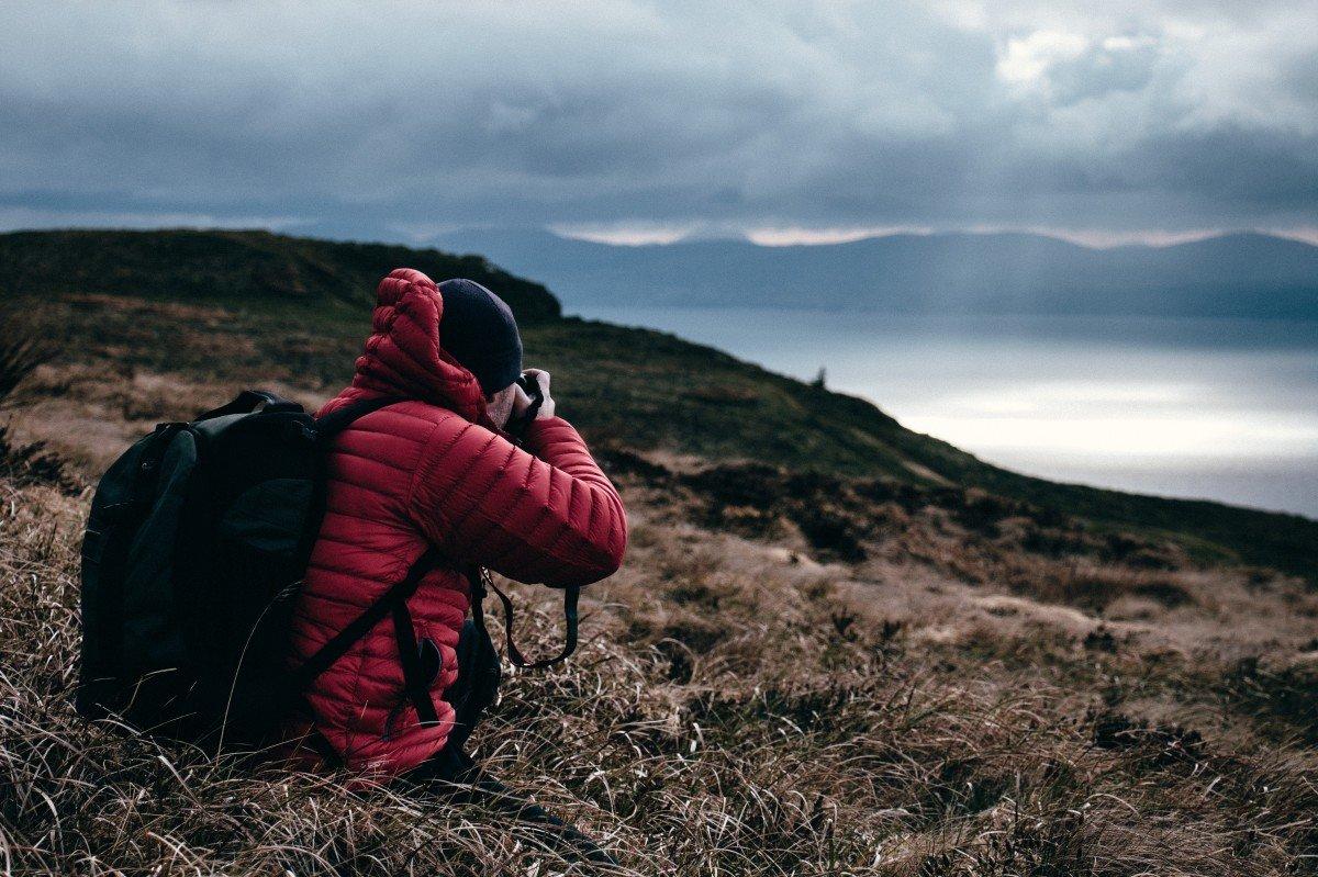 как снять фото человека на фоне пейзажа два