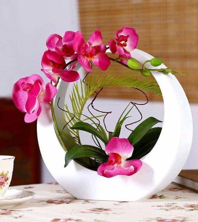 Открытки с орхидеями доброе утро