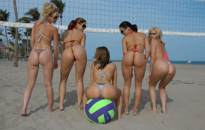 Пляжный волейбол женщины порно фото — img 13