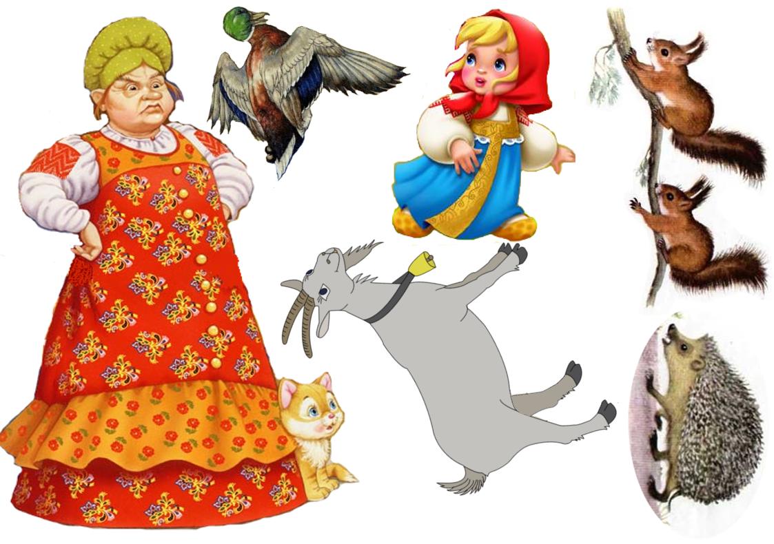 торты герои русских сказок картинки для театра простой