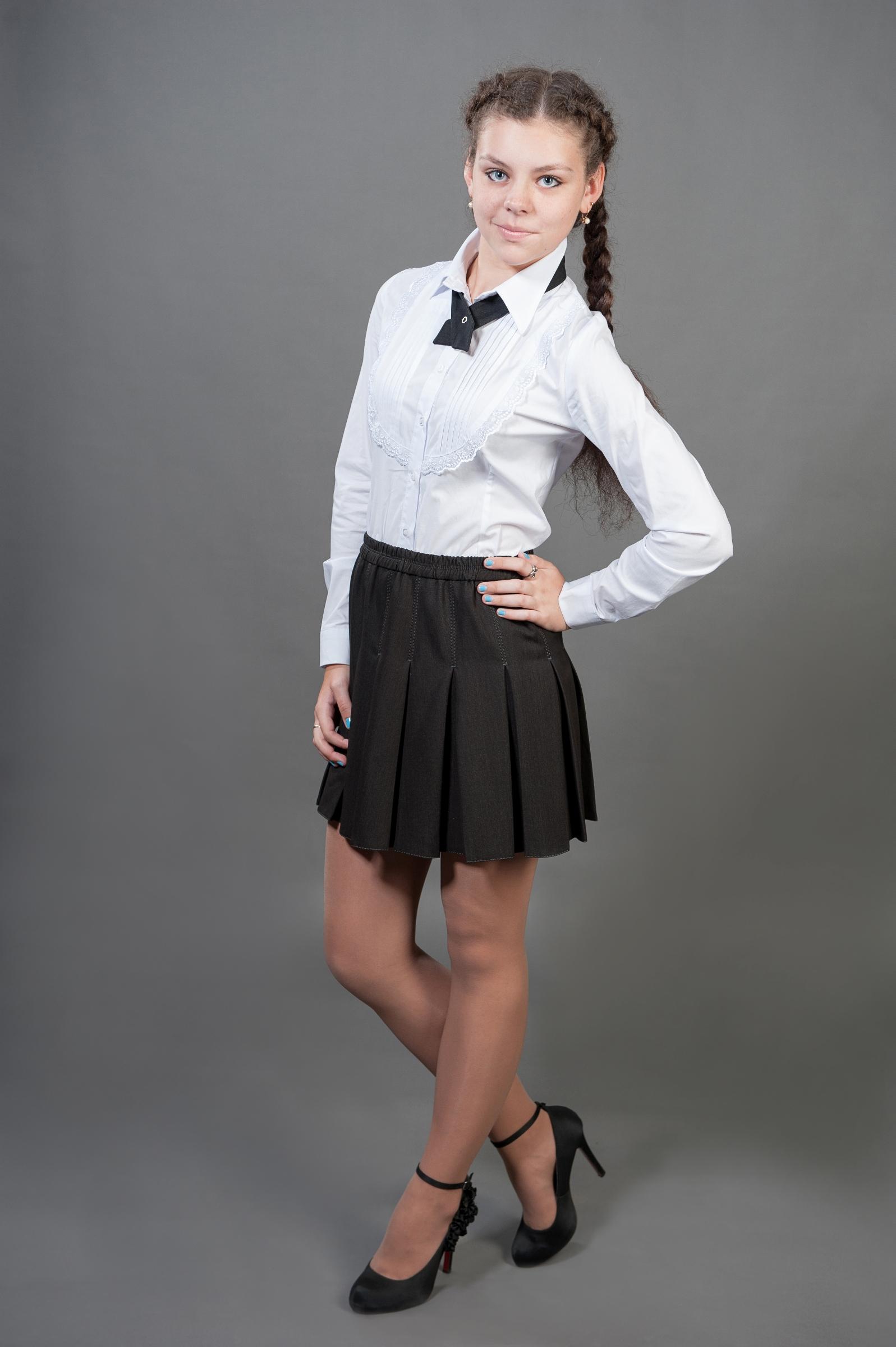 Школьная юбка в складку своими руками фото 522