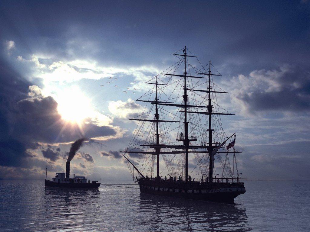 Картинки фрегаты в море, прекрасна картинка
